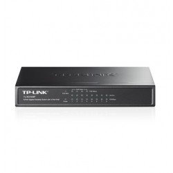 TP-Link TL-SG1008P 8-Port Gigabit Desktop Switch with 4-Port PoE Unmanaged Switches