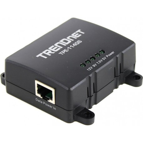 TRENDNET TPE-114GS Gigabit Power over Ethernet (PoE) Splitter