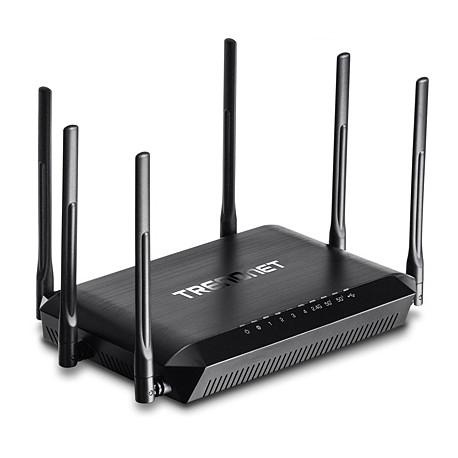 TRENDNET TEW-828DRU AC3200 Tri Band Wireless Router
