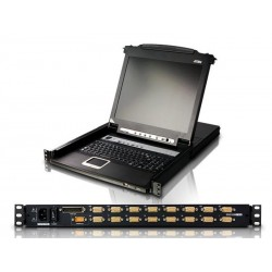 ATEN CL5716M 16-Port Slideaway™ 17 inch LCD KVM Switch