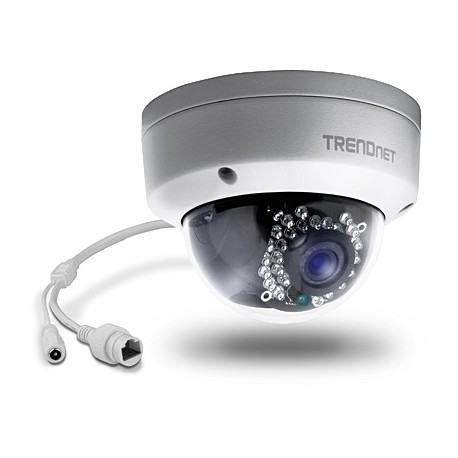TRENDNET TV-IP321PI Outdoor 1.3 MP HD PoE Dome IR Network Camera