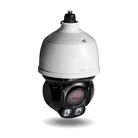 TRENDNET TV-IP430PI Outdoor 2 MP Full HD 1080p PoE+ IR Mini Speed Dome Network Camera