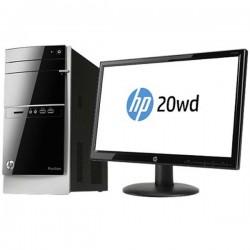 HP Pavilion 500-332x Desktop PC ( Bundling HP 20wd Led&Lcd Monitor )