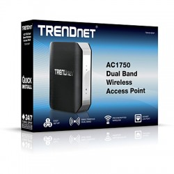 TRENDnet TEW-815DAP AC1750 Dual Band Wireless Access Point