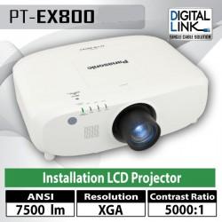Panasonic PT-EX800 Proyektor XGA 7500 Ansi Lumens LCD Technology