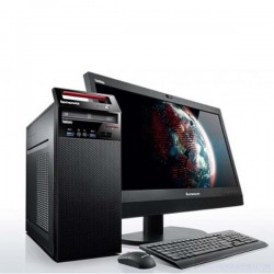 Lenovo ThinkCentre Edge E93-1IA Desktop Microtower PC Core i3 4GB 500GB DOS