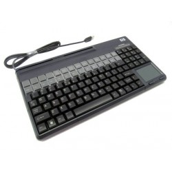 HP USB POS Keyboard with Magnetic Stripe Reader (FK218AA)