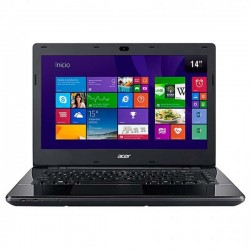 Acer Aspire E5-411-CG5D Notebook Celeron 2GB 500GB Linux Black