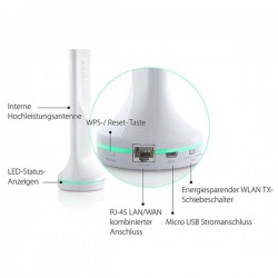 Edimax BR-6288ACL AC600 Multi-Function Dual-Band Wi-Fi Router