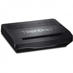 Trendnet TEW-722BRM N300 Wireless ADSL 2/2 Modem Router + ISP Network