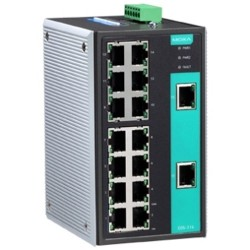 Moxa EDS-316 16-port unmanaged Ethernet switches