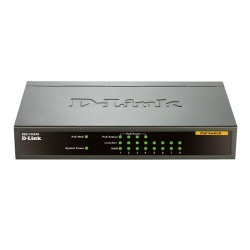 D-Link DES-1008PA 8-Port Desktop Switch with 4 PoE Ports