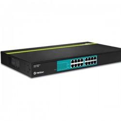 Trendnet TPE-T160 16-Port 30 Watt 10/100Mbps PoE+ Switch