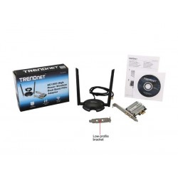 Trendnet TEW-807ECH AC1200 High Power Wireless Dual Band PCIe Adapter