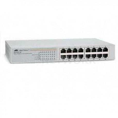 Allied Telesis Desktop Switch 16 Port 10 100 Mbps Int Power AT-FSW716