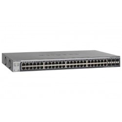 Netgear GS752TPSB-100EUS L2 Smart Switch, Stackable (2xSFP 2.5G), 48-port 10/100/1000BaseT