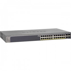 Netgear GS728TP L2 Smart Switch ProSafe 24-port 1000base-T Gigabit PoE Smart Switch