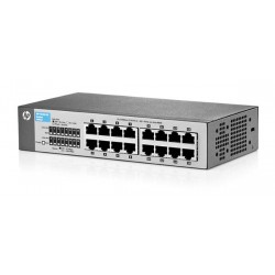 Hp J9662A V1410-16 Unmanaged Switch wih 16 x Port 10/100