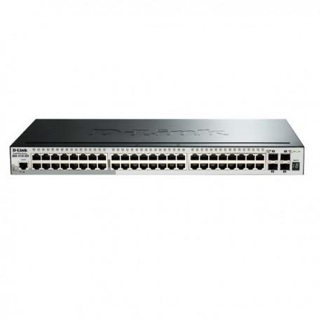 D-Link DGS-1510-52X 48 10/100/1000 Mbps 2 Gigabit SFP 4 10G SFP+