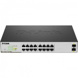 D-link DGS-1100-18/EA Switch Managed 16 x Gigabit Ethernet Port Switch Capacity 36Gbps