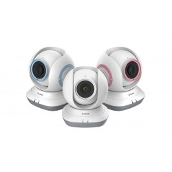 D-Link DCS-850L Pan & Tilt Cloud Wi-Fi Baby Camera with Night Vision