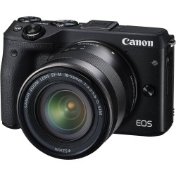 Canon EOS M3 Kit II (EF-M18-55 IS STM & EF-M55-200 IS STM)