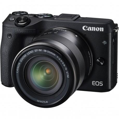 Canon EOS M3 Kit II (EF-M18-55 IS STM & EF-M55-200 IS STM)