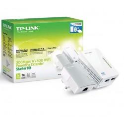 Tp-Link TL-WPA4220KIT 300Mbps Wi-Fi Range Extender AV500 Powerline Edition