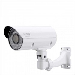 Linksys LCAB03VLNOD-AP Outdoor Bullet Camera 1080p 3MP Night Vision for Business