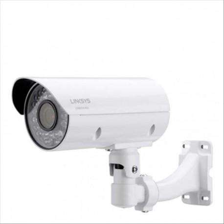 Linksys LCAB03VLNOD-AP Outdoor Bullet Camera 1080p 3MP Night Vision for Business