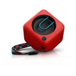 Phillips BT1300R Wireless Portable Speaker Bluetooth Red