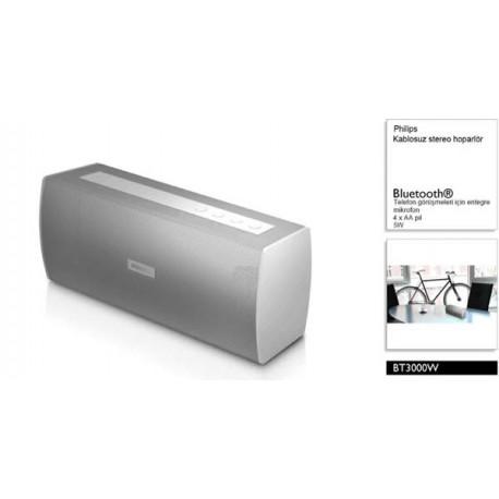 Phillips BT3000W Bluetooth Wireless Stereo Speaker