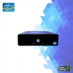 Fujitech H 813I Desktop Mini PC Core I3 4GB 500GB