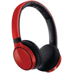 Philips SHB9100RD Headset stereo On-ear Red Bluetooth