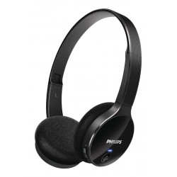Philips SHB4000 Headset stereo Bluetooth On-ear Hitam
