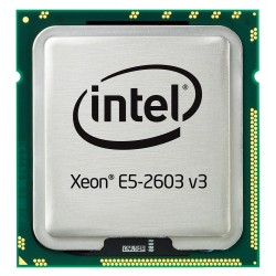 Lenovo 81Y7113 Intel Xeon E5-2603V3 1.6 GHz 6core 15 MB cache for System x3500 M5