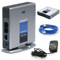 Linksys PAP2T-NA VoIP Phone Adapter