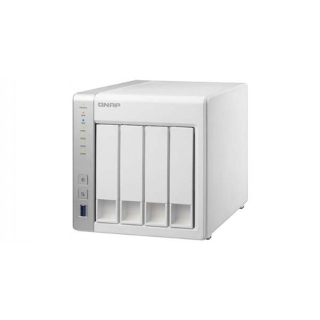 Qnap TS-431+ 4-Bay TurboNAS Storage Server Dual-core 1GB SATA 6Gb/s