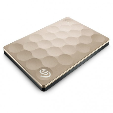 "Seagate 1TB Backup Plus Ultra Slim Portable 2.5"" Gold (STEH1000301)"