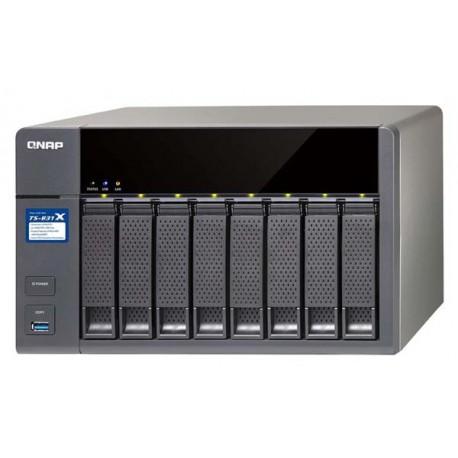 Qnap TS-831X-16G Storage Server Nas quad-core 1.4GHz 16GB 8-Bay