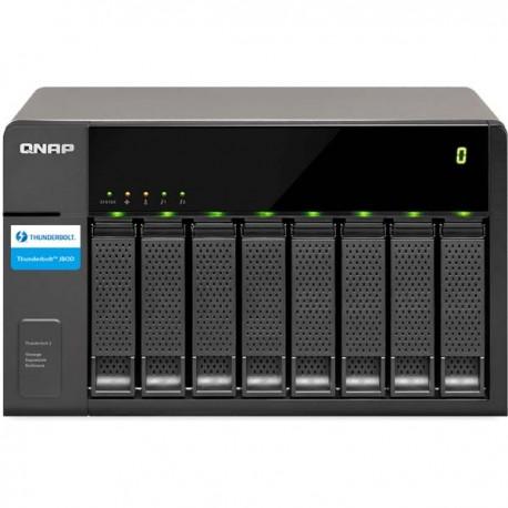 Qnap TX-800P 8-Bay Expension Unit for QNAP Thunderbolt vNAS series