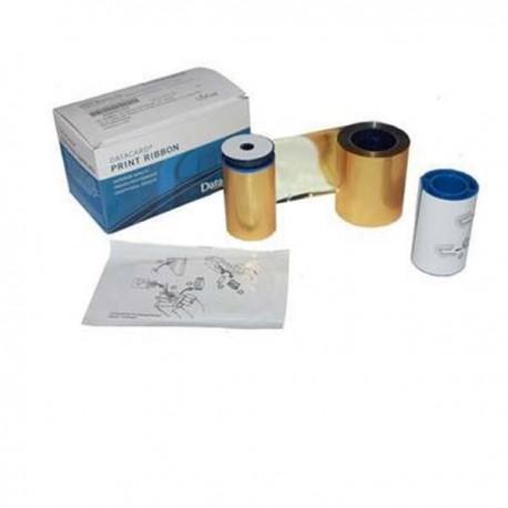 Datacard 532000-007 ID Card Printer Ribbon Mono Gold