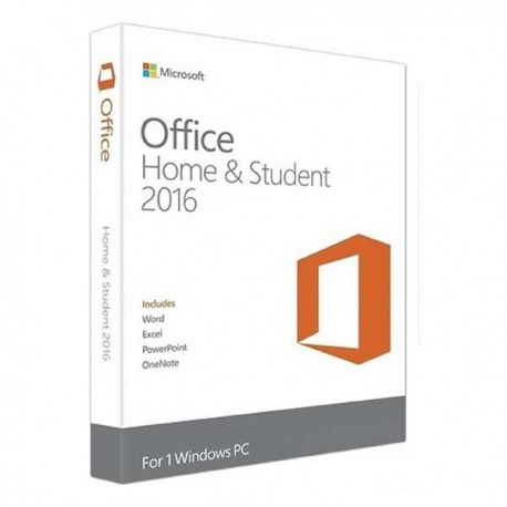 Microsoft 79G-04363 Office Home and Student 2016 Win English APAC EM Medialess