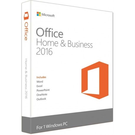 Microsoft T5D-02274 Office Home and Business 2016 32-bit / x64 English