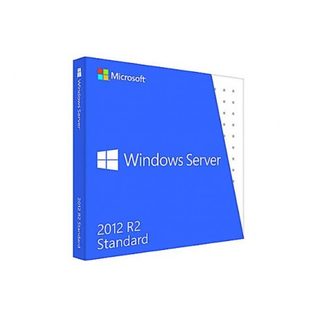 Microsoft P73-05967 Windows Server Standard 2012 R2 64Bit DVD 10 Clt
