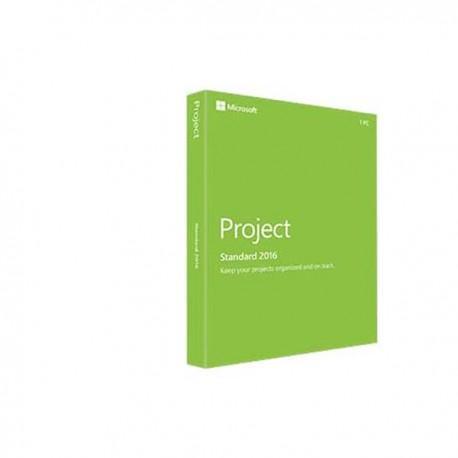 Microsoft 076-05530 Project 2016 32-bit/x64 English EM DVD