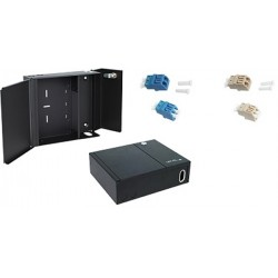 Netviel Wallmount Enclosure Adapter LC 4 Port Wallmount Fixed