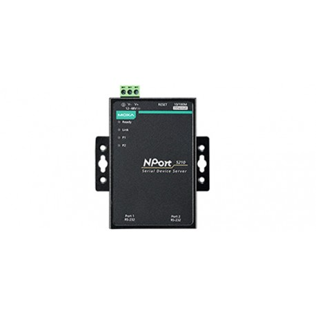 Moxa NPort5210 2 Port RS232 Serial Device Servers