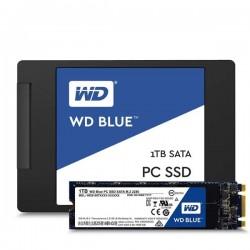 Western Digital WDS500G1B0A Harddisk SSD Blue