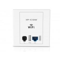 IP-COM W30AP In-Wall 300M Wall Jack Fat Access Point
